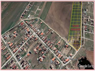 Parcele pentru case in Sacalaz!    PUZ nou, lipit de vatra satului !
